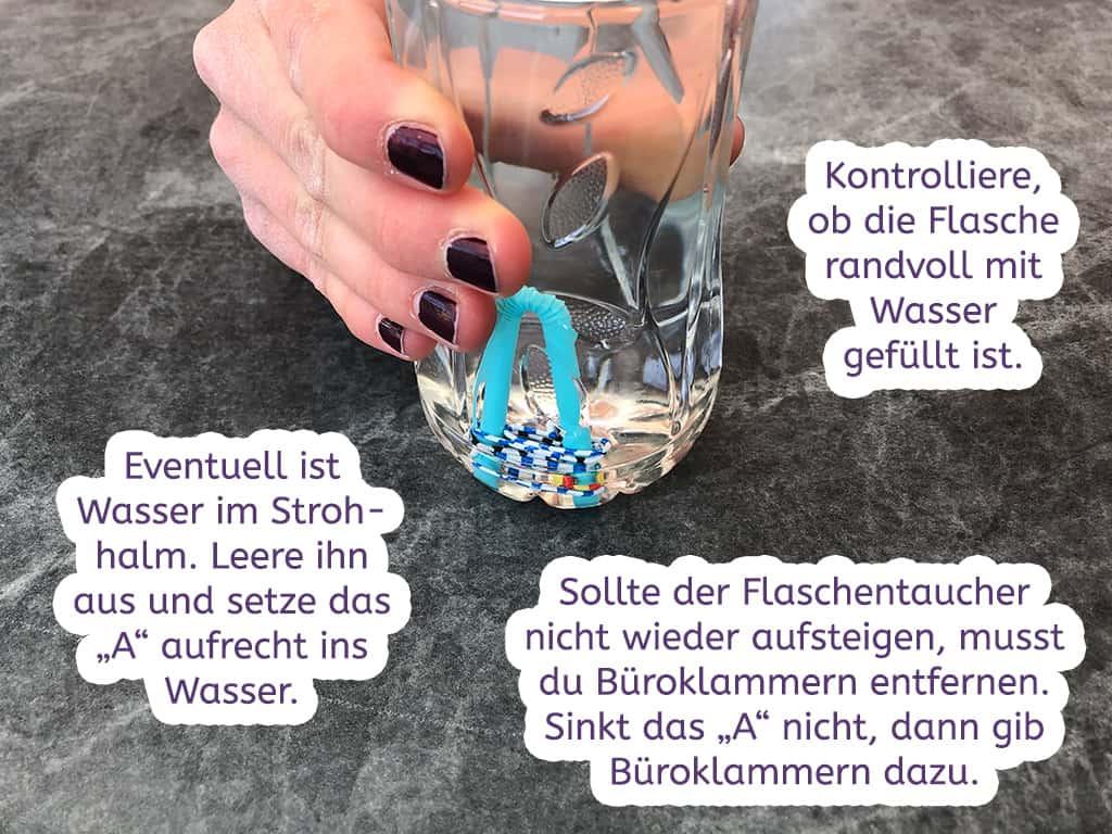 Flaschentaucher Tipps